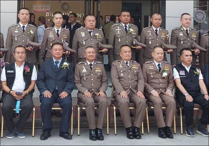 พิธีเปิดอาคาร สถานีตำรวจภูธรรัตนาธิเบศร์ (หลังใหม่)