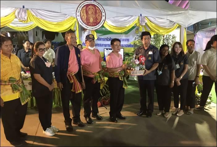 พ่อเมืองสุพรรณ เปิดงานเทศกาลกินปลา กินเห็ด อำเภอด่านช้าง ครั้งที่15