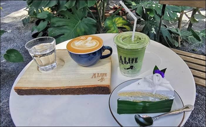 A Life cafe & gallery ร้านกาแฟสไตล์ดิบๆธรรมชาติ เมืองอู่ทอง ดินแดนสุวรรณภูมิ