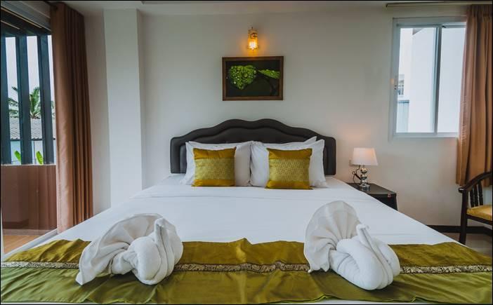 โรงแรมทีเอชบีช หัวหิน-ชะอำ โรงแรมที่อยู่ใจกลางหัวหิน หน้าตลาด อตก.หัวหิน สะอาด หาของกินง่าย