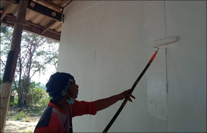 ร่วมพัฒนาโรงเรียนร้าง เพื่อพัฒนาเป็นเป็นโคก หนอง นาโมเดล บ้านวังโหรา