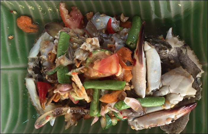 ส้มตำไทยปูม้ารถเด็ด ลาบเป็ด ต้มยำรสแซบ ผัดหมี่ซั่วรสดังเดิมต้องร้านหมวยอีสาน กำแพงเพชร