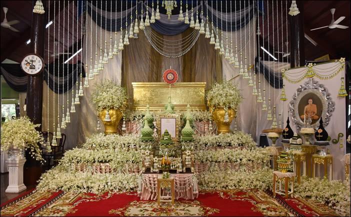 งานสวดพระอภิธรรม งานพระราชทานเพลิงศพ พระครูปทุมรัตนพิทักษ์ (สุวรรณ์ ชานิสุสโร)