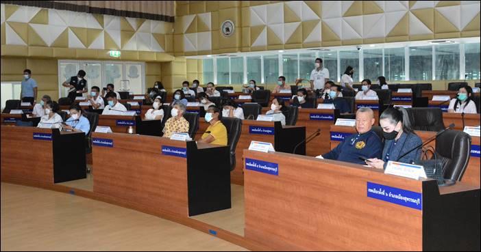 """อบจ.สุพรรณบุรีรับฟังการนำเสนอ """"โครงการดิจิทัลอาร์ตมิวเซียม สุพรรณภูมิ จุดกำเนิดประเทศไทย อดีตในอนาคต""""สดุดีพระเกียรติ รัชกาลที่ 9"""