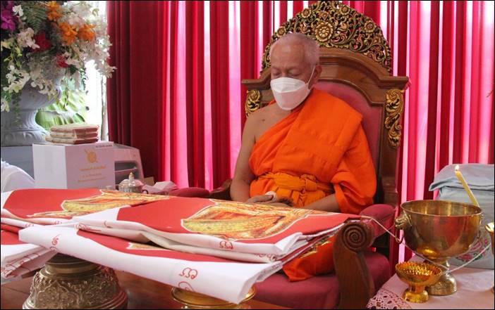 """พระเกจิภาวนาจารย์ทั่วไทย นั่งปรกอธิฐานจิต พิธีมหาพุทธาภิเษก หลวงพ่อสำเร็จศักดิ์สิทธิ์ รุ่น """"ประวัติศาสตร์ตำรวจ"""" อ.หนองแค จ.สระบุรี"""